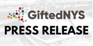 GiftedNYS Press Release